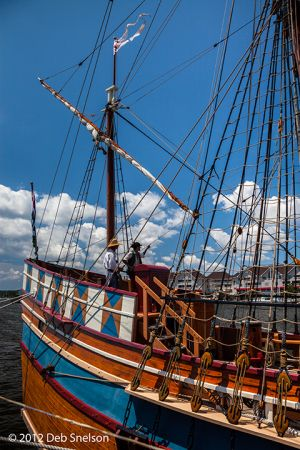Elizabeth II Ship Roanoke Island Festival Park Manteo Outer Banks North Carolina 2.jpg