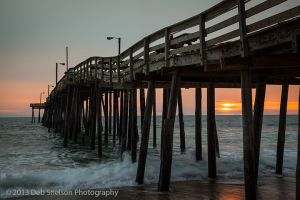 Nags Head Pier Before Dawn Outer Banks North Carolina.jpg