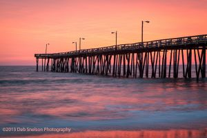 Nags Head Pier Sunrise Outer Banks North Carolina.jpg