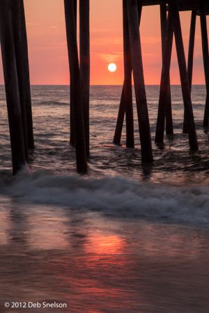 Sunrise under Rodanthe Pier Outer Banks OBX North Carolina NC.jpg