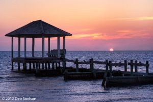 Sunset on the Sound Pamlico Sound Outer Banks Salvo Beach  North Carolina NC 3.jpg