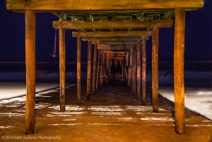 Under Avon Pier at Night Outer Banks North Carolina.jpg