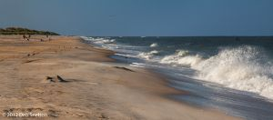 Wave action on Salvo Beach Outer Banks North Carolina NC.jpg