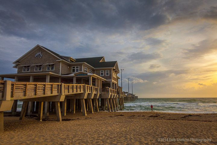 Jennettes Pier Sunrise Nags Head Outer Banks North Carolina.jpg