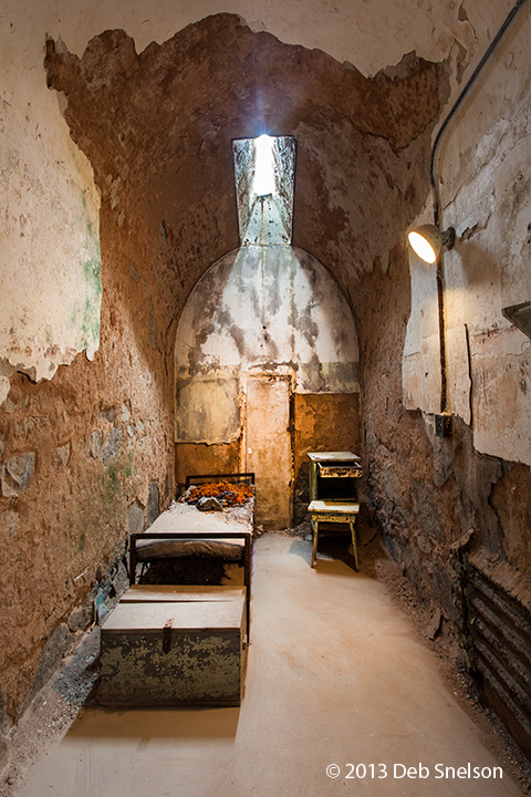 Eastern State Penitentiary And Philadelphia